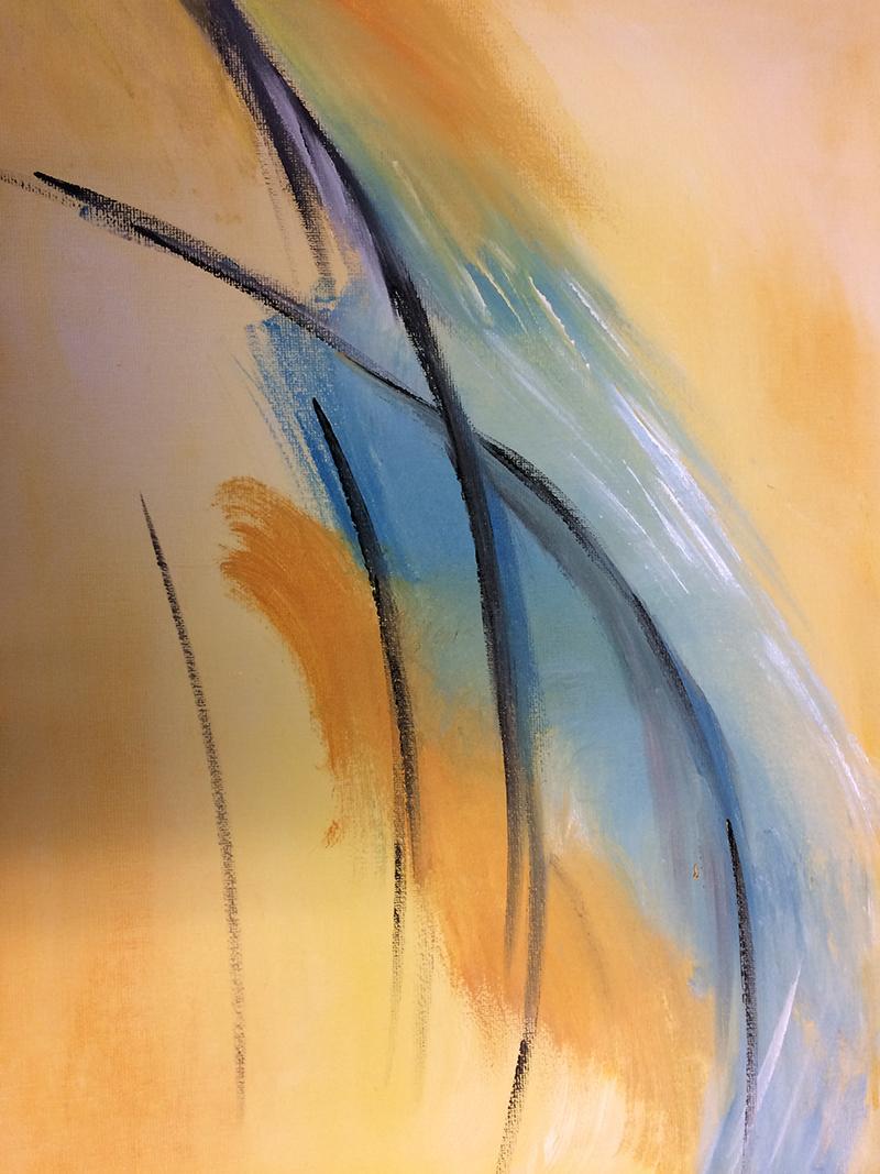 Workshop intuïtief schilderen