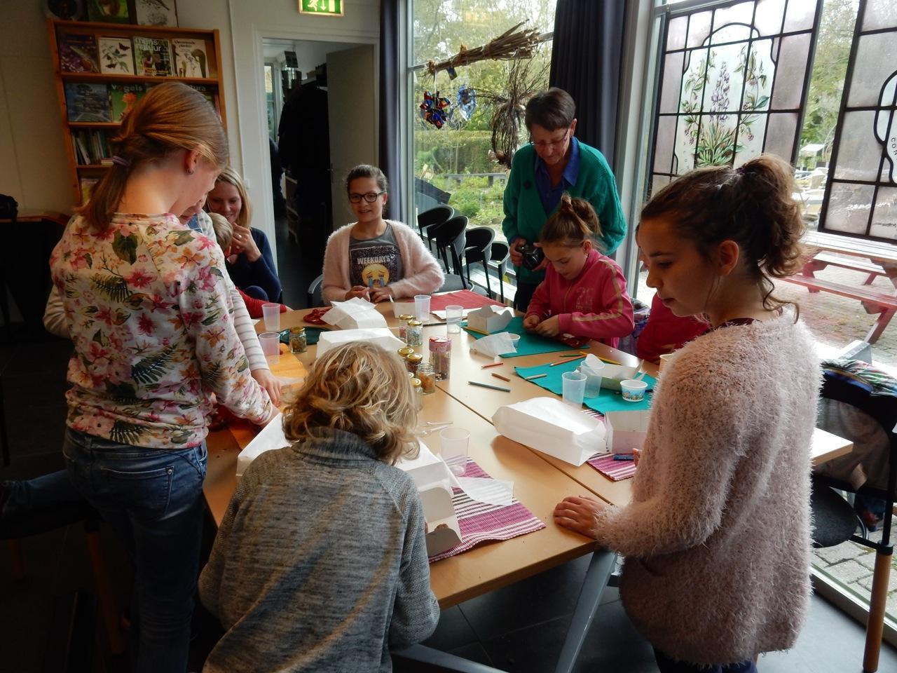 Kinderworkshop chocolaatjes maken voor Vaderdag