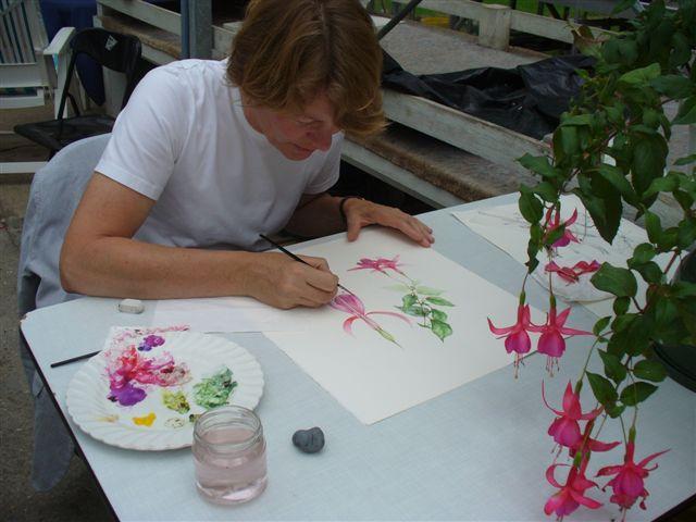 Botanisch tekenen en schilderen