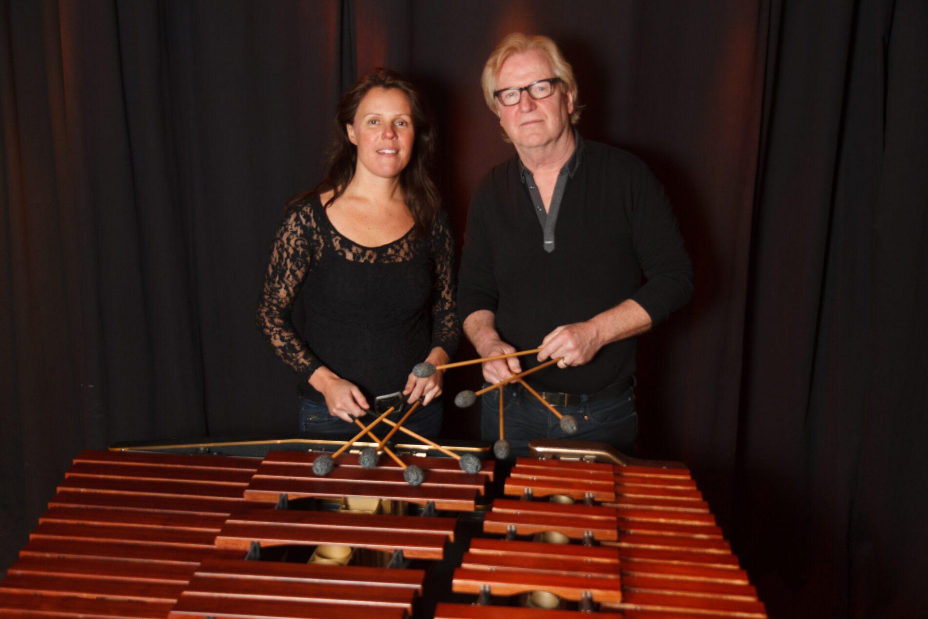 Concert Canto Ostinato op twee marimba's
